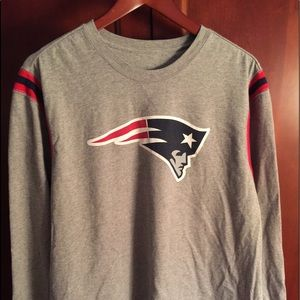 Nike New England Patriots long sleeved tee